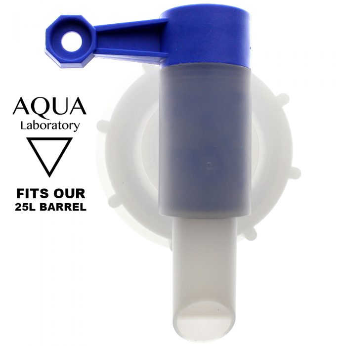 Aqua Laboratory 25 Liter Water Tap - Highest Quality Bericap with International Patent. Fits our 25L barrels only.